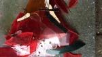 01 januari 2017 - Groene opel astra met kapotte achterlamp