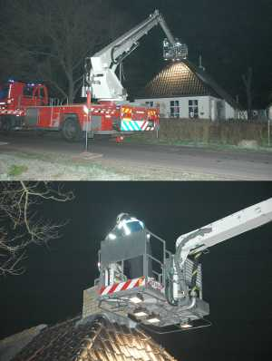 Schoorsteenbrand in Bollingawier - Waldnet