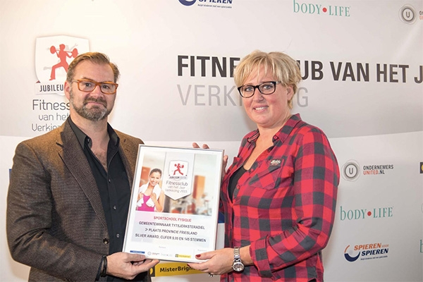 Sportschool Fysique uit Burgum wint award