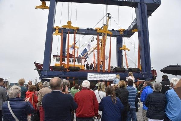 zaterdag 16 juli - Ingebruikname van 'nieuwe' haven Lauwersoog