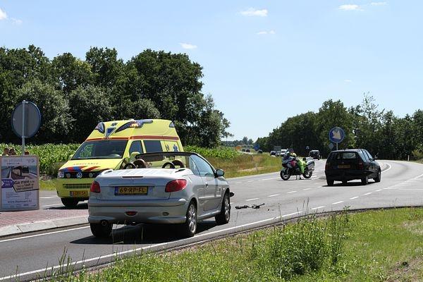 dinsdag 19 juli - Met de schrik vrij bij ongeval Boppewei