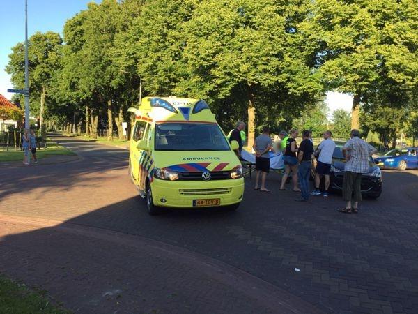 dinsdag 19 juli - Vrouw gewond bij ongeval De Dellen