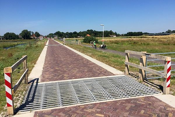 woensdag 20 juli - Haadwei bij De Falom is weer in gebruik