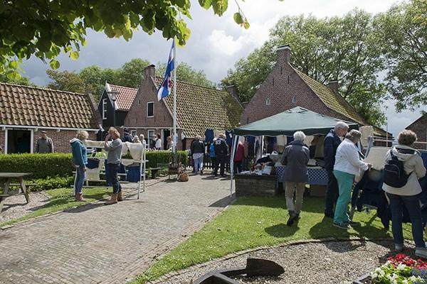 zaterdag 06 augustus - Zomermarkt Moddergat bij museum 't Fiskersh�s