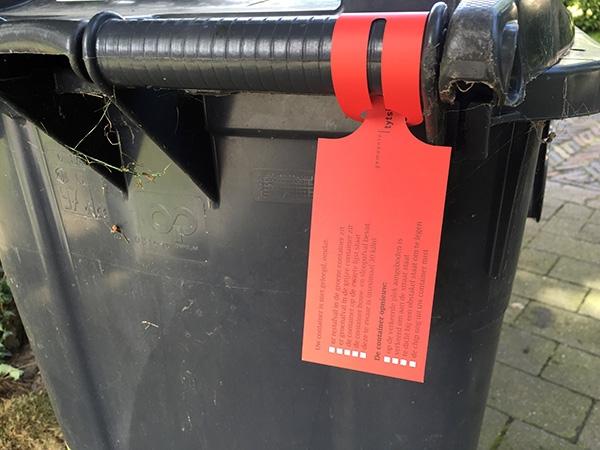 woensdag 10 augustus - Rode kaart? Uw afvalbak wordt niet geleegd