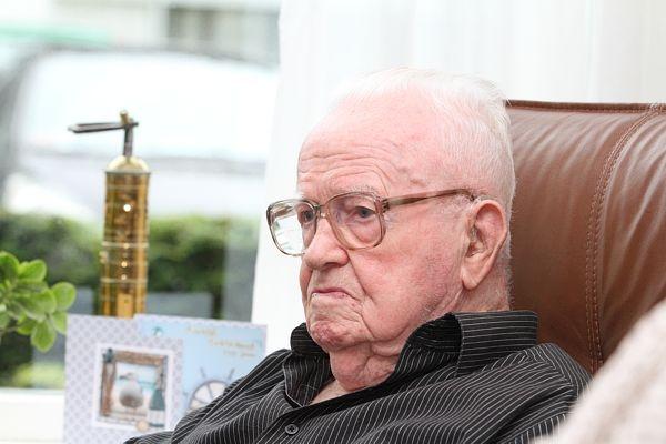 vrijdag 12 augustus - Sjoerd de Boer wordt 100 jaar