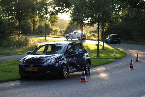 woensdag 17 augustus - Met de schrik vrij bij ongeval Vierhuisterweg
