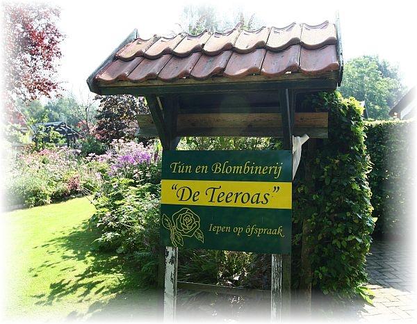 vrijdag 19 augustus - Open dagen bij 'De Teeroas' in Harkema