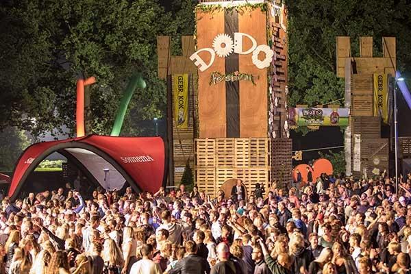 zaterdag 20 augustus - Eerste dag Dodo festival goed bezocht