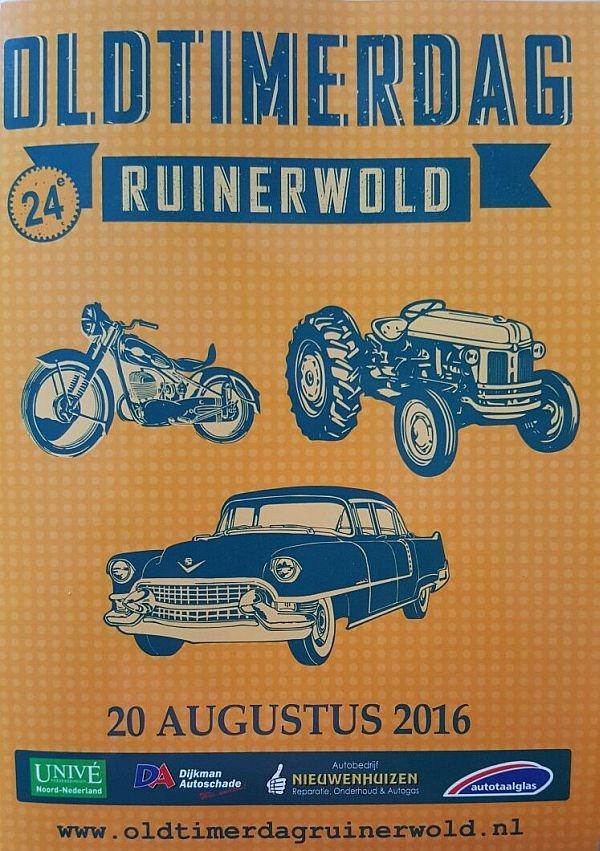 zondag 21 augustus - Oldtimerdag in Ruinerwold