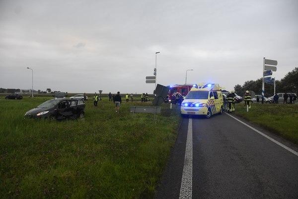 maandag 22 augustus - Gewonden bij ongeval op Lauwersseewei Anjum