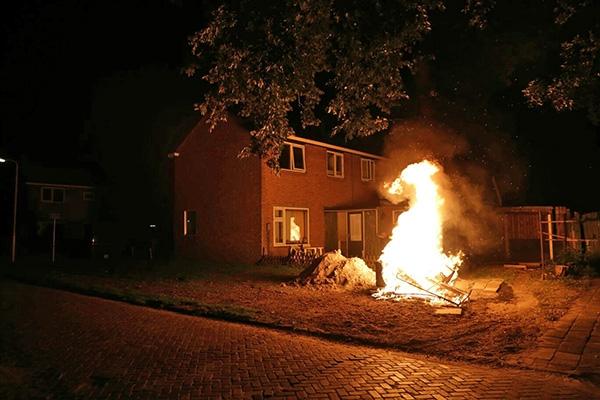 vrijdag 16 september - Brandje aan Zwaluwstaart in Drachten