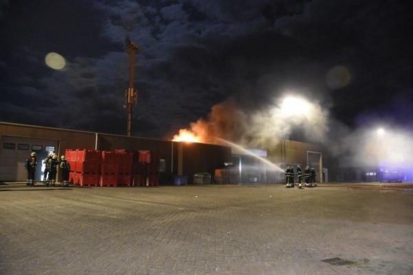 zondag 18 september - Grote brand Louw Spijkerman Lauwersoog