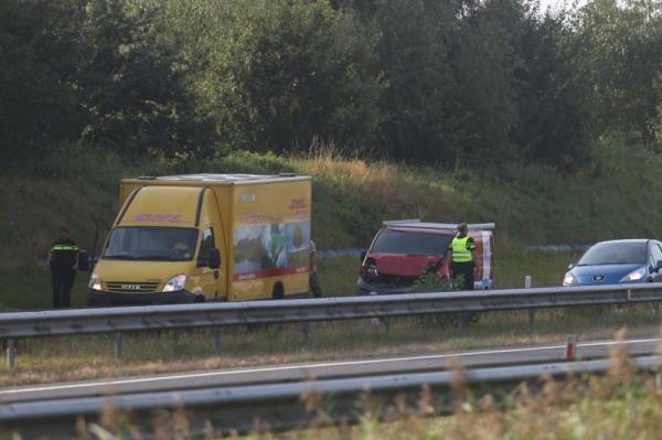 woensdag 21 september - Gewonde bij ongeval op N31 bij Drachten