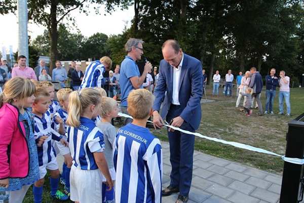 <i>20 uur geleden</i> - Kunstgras van VV Gorredijk geopend