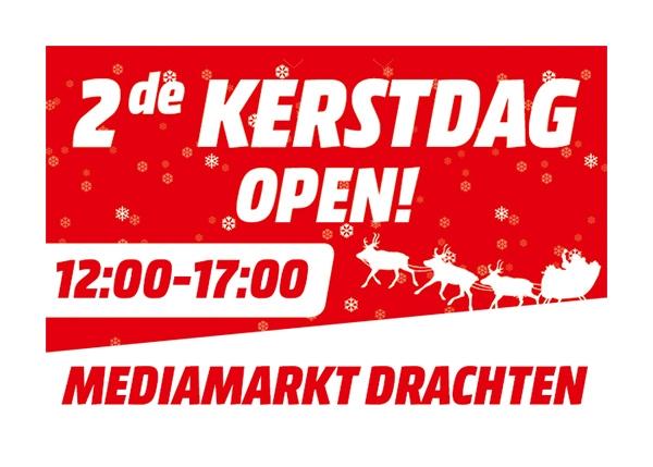 Media Markt Drachten geopend op 2e kerstdag