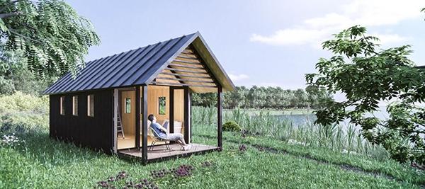 Run op 'tiny houses' in Hurdegaryp