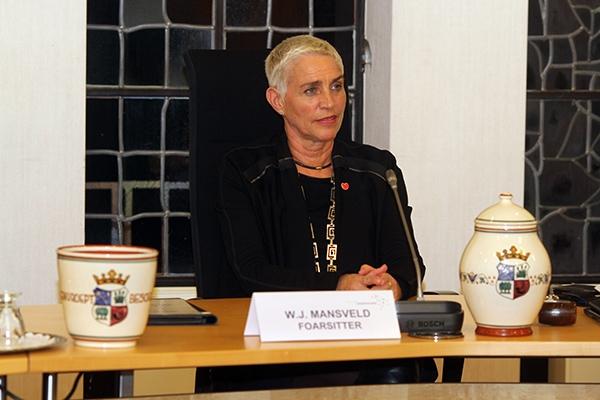 Mansveld neemt afscheid in raadsvergadering