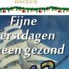 24 december 2012 Dokkum - Fijne kerstdagen en een gezond 2013 gewenst van shantykoor de Admiraliteitssjongers Dokkum.
