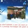 24 december 2013 W�ltersw�ld - Iedereen die de Nije Warf een warm hart toedraagt wensen wij prettige kerstdagen en een heel gelukkig en gezond 2014