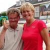10 augustus 2014 Drachten - Heel bekende Nederlanders tijdens Drachten on the Beach op vrijdag 8 aug. 2014.
