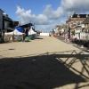 11 augustus 2014 Drachten - Drachten on the Beach lag er vanmorgen verlaten bij. Komende week word hier weer volop gewerkt aan de Drachtstervaart.