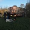 31 december 2014 Buitenpost - gezellige boel in buitenpost tijdens het carbid schieten.