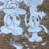 24 januari 2015 Kootstertille - Disneyland op de muur in sneeuw