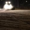 05 februari 2015 Burgum - Shovel nog druk in de weer om 22:40