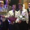 08 februari 2015 Burgum - Wooden Moons, 60's 70's tribute band, winnaar van Lytske Waldpop. Ze krijgen een plaats op Waldpop 2015