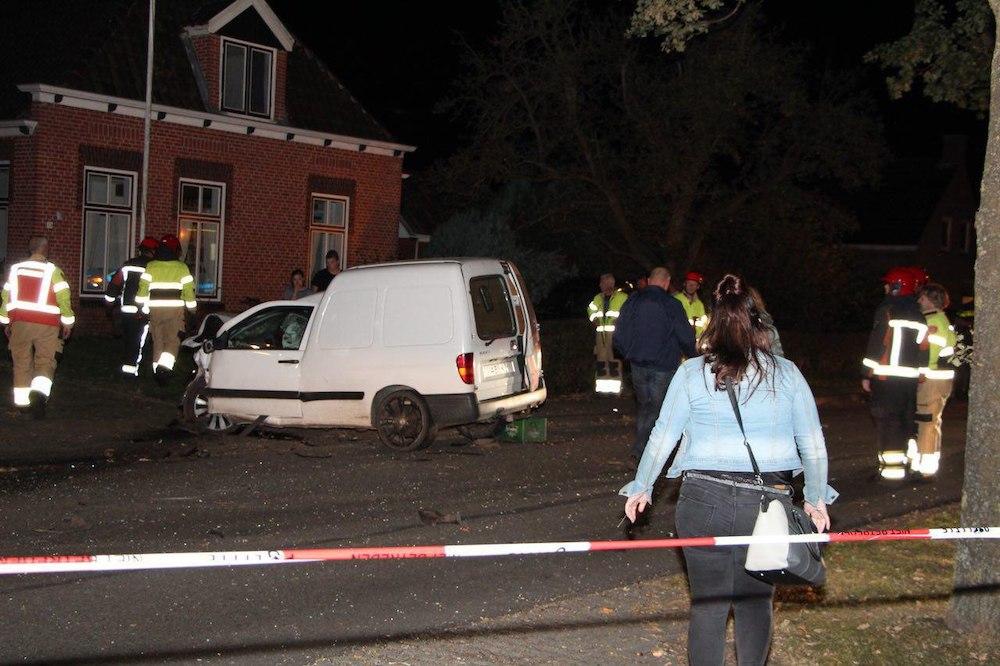 Gewonde Bij Botsing Met 45 Km Auto In De Wilp