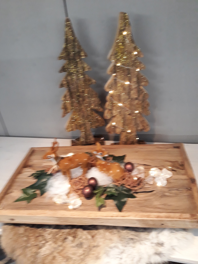 Kerstshow En Kerstbomen Bij Tuincentrum Bijma