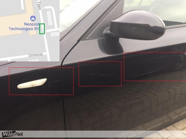 <i>15 uur geleden</i> - Auto bekrast de Tijen te Drachten