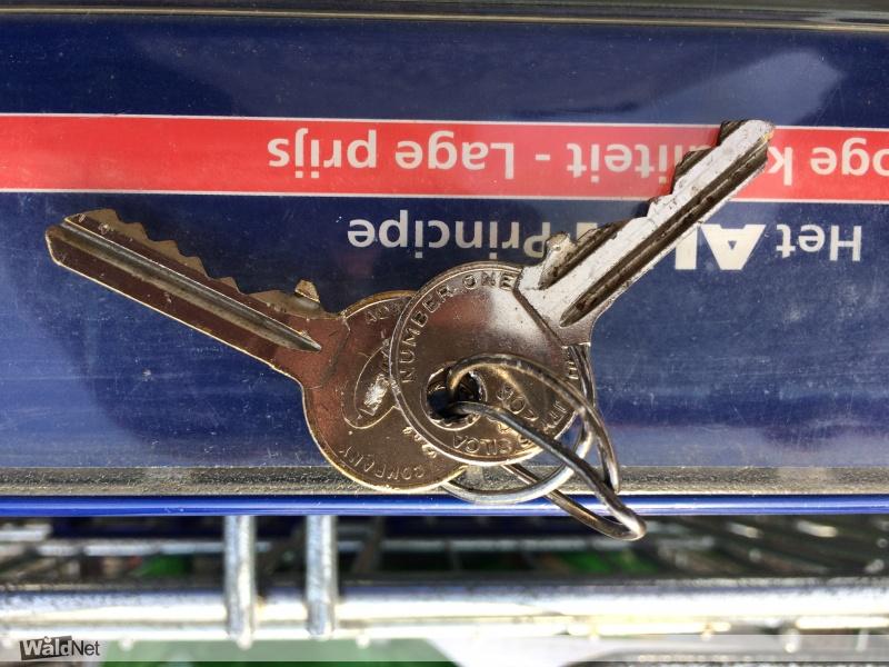 zondag 14 oktober - Gevonden twee sleutels