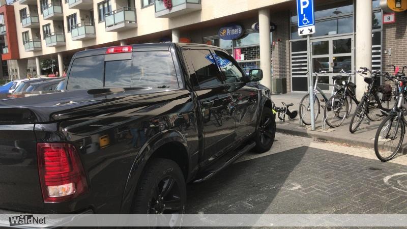 zondag 18 augustus - Aso parkeren bij jumbo