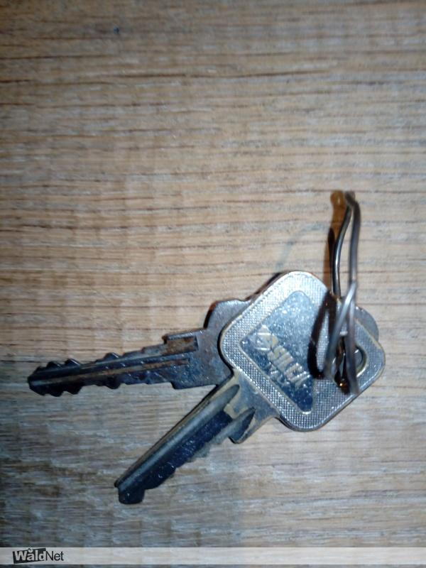 donderdag 22 augustus - Gevonden 2 sleutels