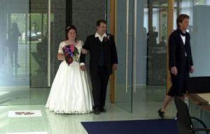 Huwelijk in nieuwe gemeentehuis