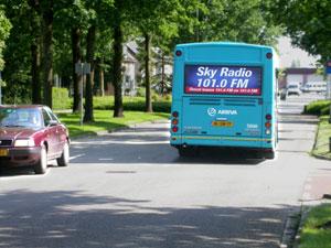 Geen veilige busroute in Burgum