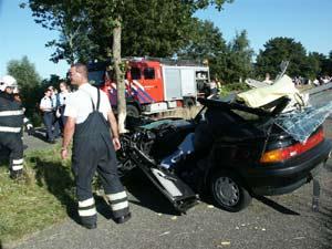 Dodelijk ongeval op Tolhúsleane