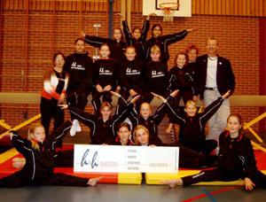 H&H Healtline sponsort gymnastiek