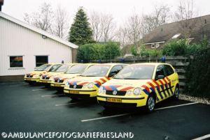 Nieuwe auto's voor Ambulancedienst