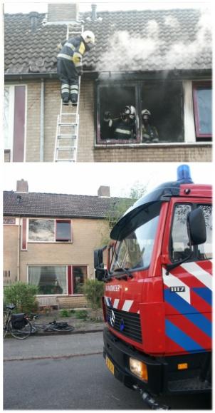 Woningbrand in Gorredijk