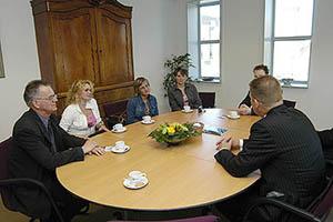 Polen in gesprek met burgemeester
