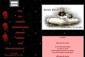 Site als eerbetoon voor Dennis