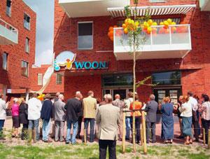 Polderman opent 'Woon' in Burgum