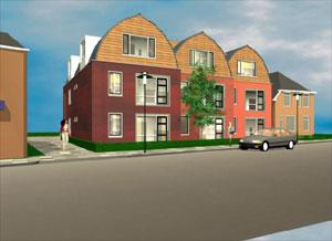 9 nieuwe appartementen in Ureterp