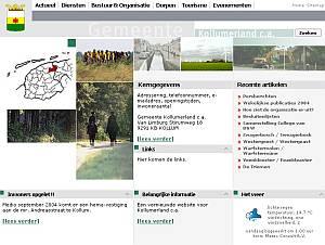 Nieuwe website voor Kollumerland