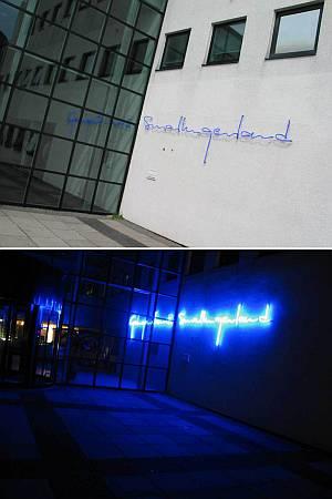 Neon:Gemeentehuis Smallingerland