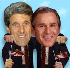 Friezen verkiezen Kerry boven Bush