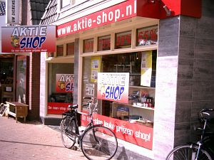 Aktieshop van start in Surhuisterveen